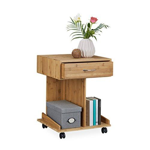 nachttisch auf rollen. Black Bedroom Furniture Sets. Home Design Ideas