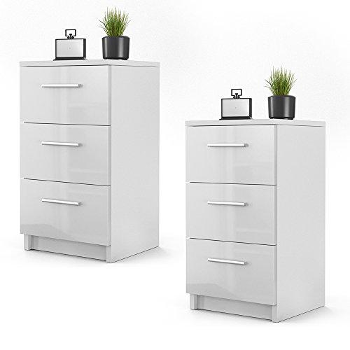 nachttisch kommode. Black Bedroom Furniture Sets. Home Design Ideas