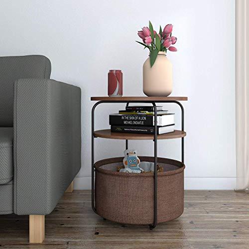 nachttisch rund. Black Bedroom Furniture Sets. Home Design Ideas