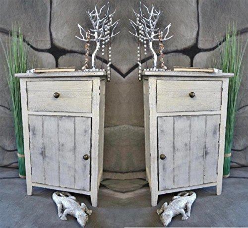 nachttisch vintage style. Black Bedroom Furniture Sets. Home Design Ideas