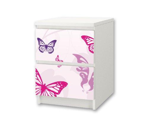 ... Aufkleber für Kinderzimmer Kommode / Nachttisch MALM von IKEA - NS01