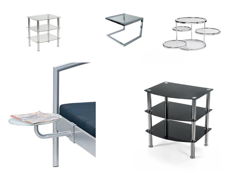glas nachttisch. Black Bedroom Furniture Sets. Home Design Ideas