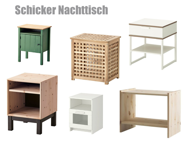 ikea nachttisch. Black Bedroom Furniture Sets. Home Design Ideas