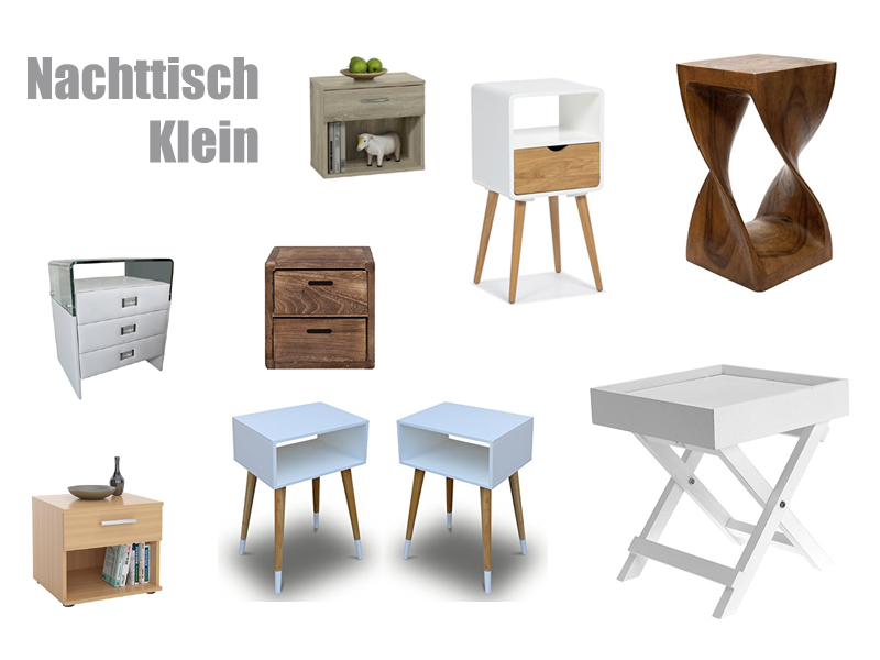 nachttisch klein. Black Bedroom Furniture Sets. Home Design Ideas